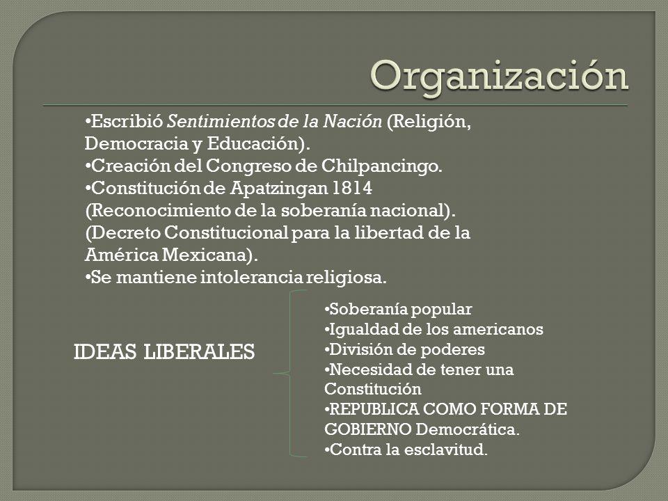 Organización IDEAS LIBERALES