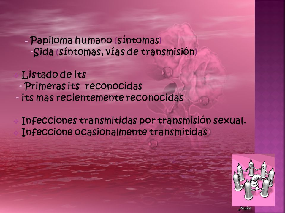 - Papiloma humano (síntomas)