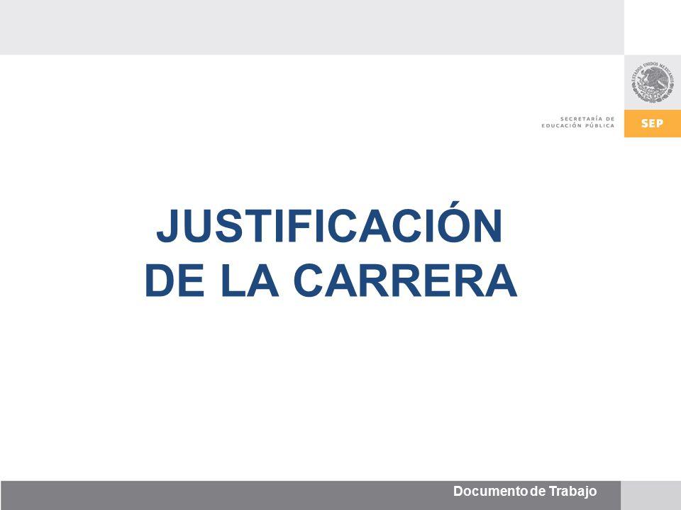 JUSTIFICACIÓN DE LA CARRERA. - ppt video online descargar