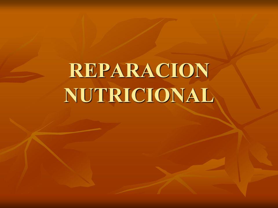 REPARACION NUTRICIONAL