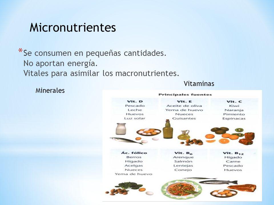 Micronutrientes Micronutrientes