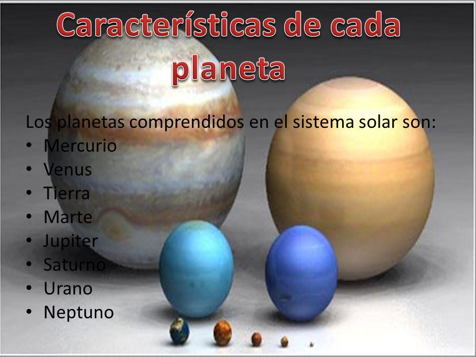 Gianfranco barbalace 1er a o b ppt descargar - Caracteristicas de los planetas interiores ...