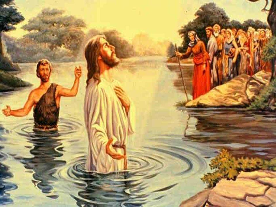 ¿Necesitaba Jesús recibir el Bautismo