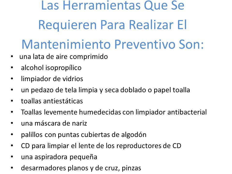 Que es el mantenimiento preventivo ppt descargar for Herramientas que se utilizan en un vivero