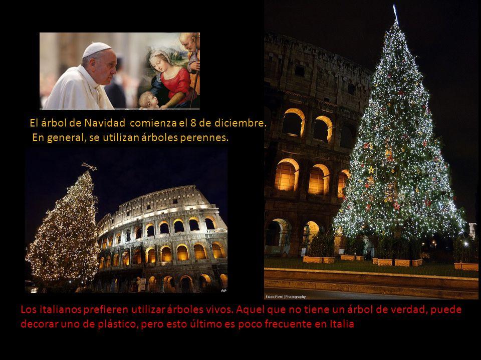 el rbol de navidad comienza el de diciembre