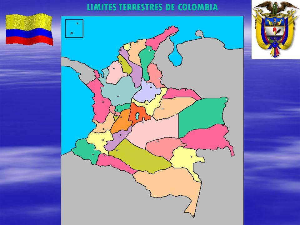 LIMITES TERRESTRES DE COLOMBIA