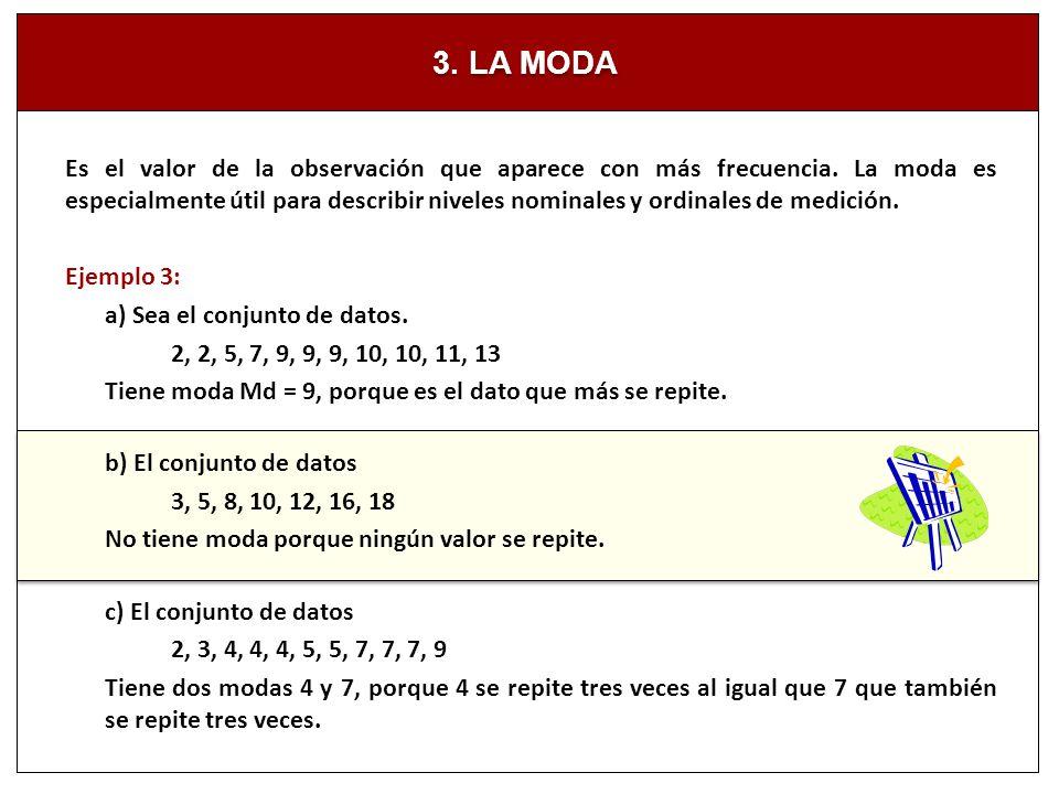 3. LA MODA