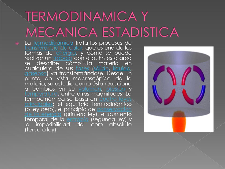 TERMODINAMICA Y MECANICA ESTADISTICA