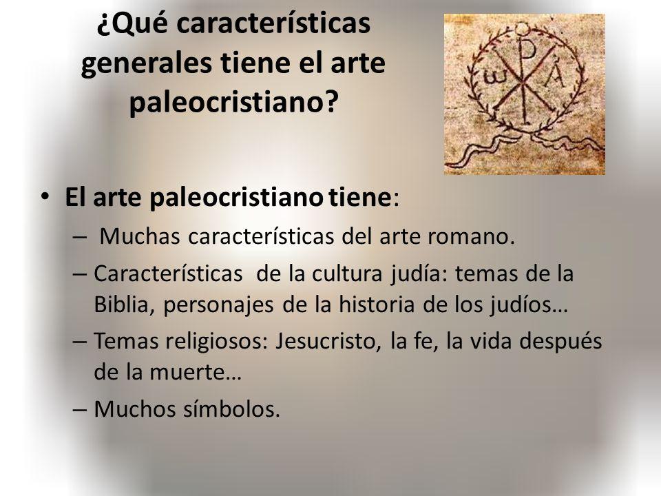 El arte paleocristiano ppt video online descargar for 5 tecnicas de la arquitectura