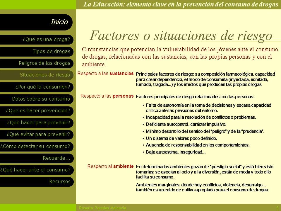 FACTORES DE RIESGO EN ADOLESCENTES PARA