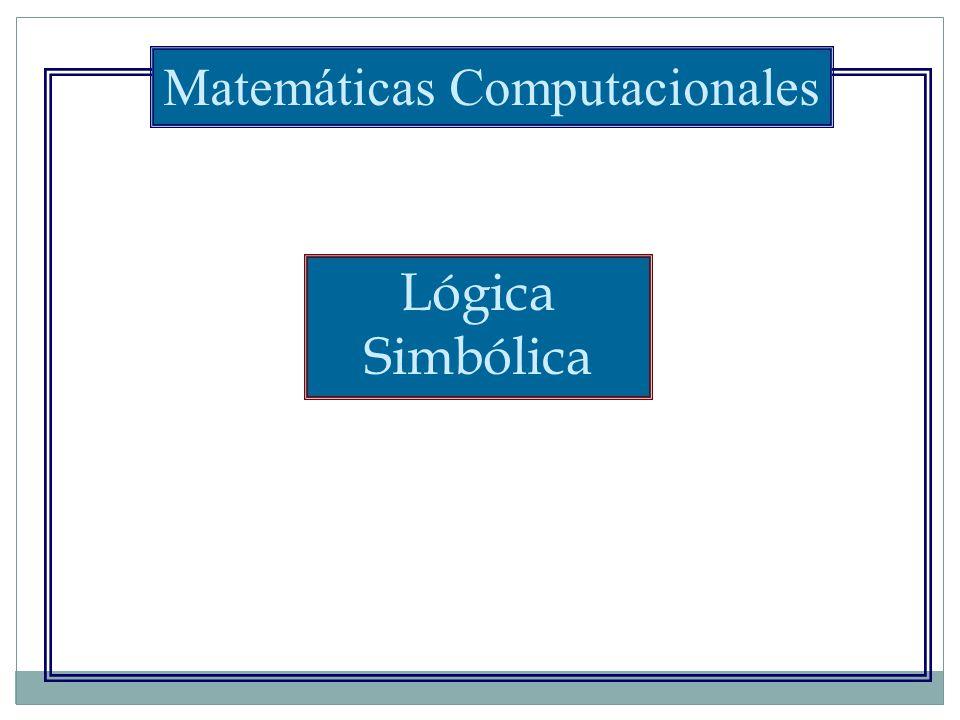 Matemáticas Computacionales