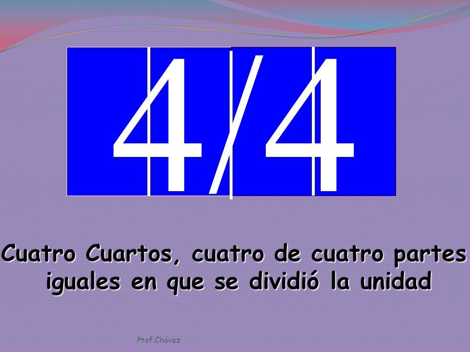 4/4 Cuatro Cuartos, cuatro de cuatro partes