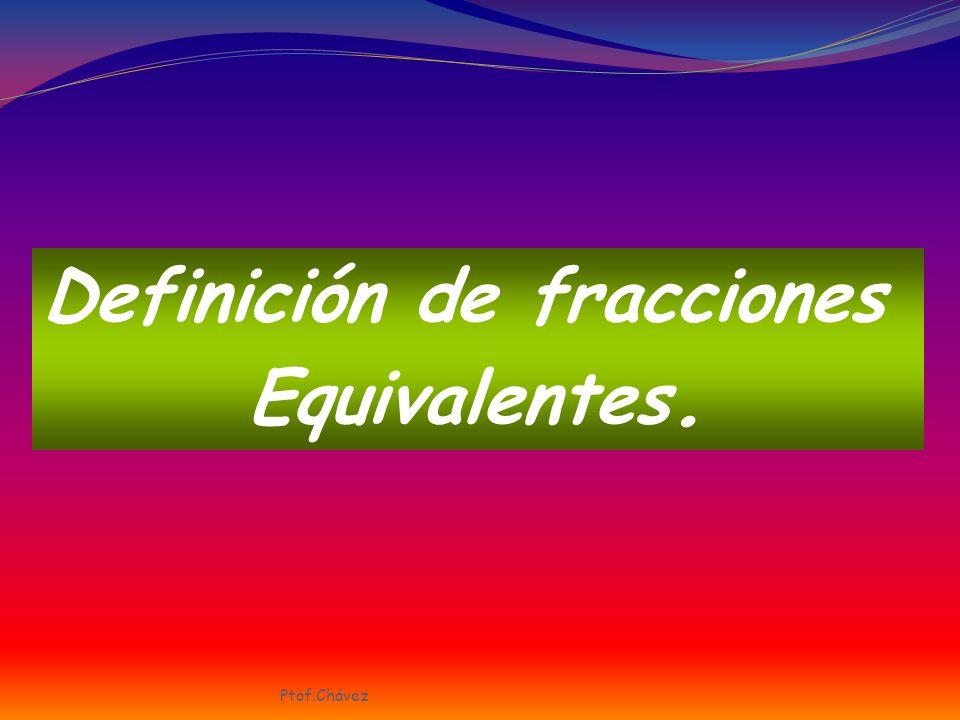 Definición de fracciones