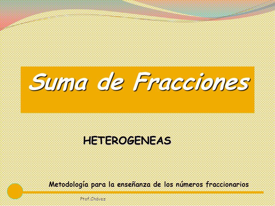 Suma de Fracciones HETEROGENEAS