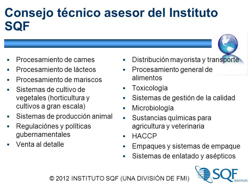 Consejo técnico asesor del Instituto SQF