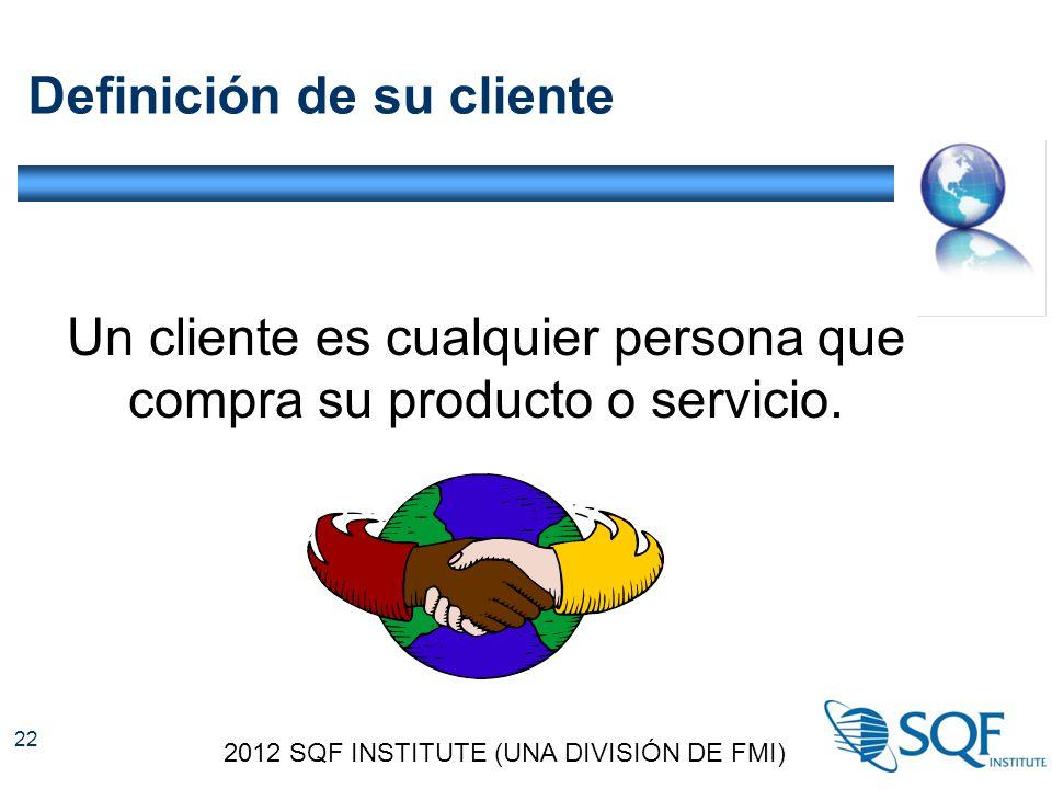 Definición de su cliente