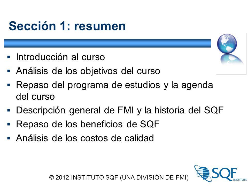 Implementación de sistemas SQF