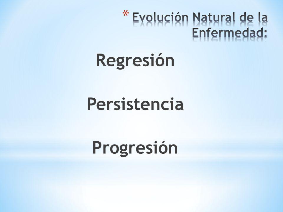 Evolución Natural de la Enfermedad: