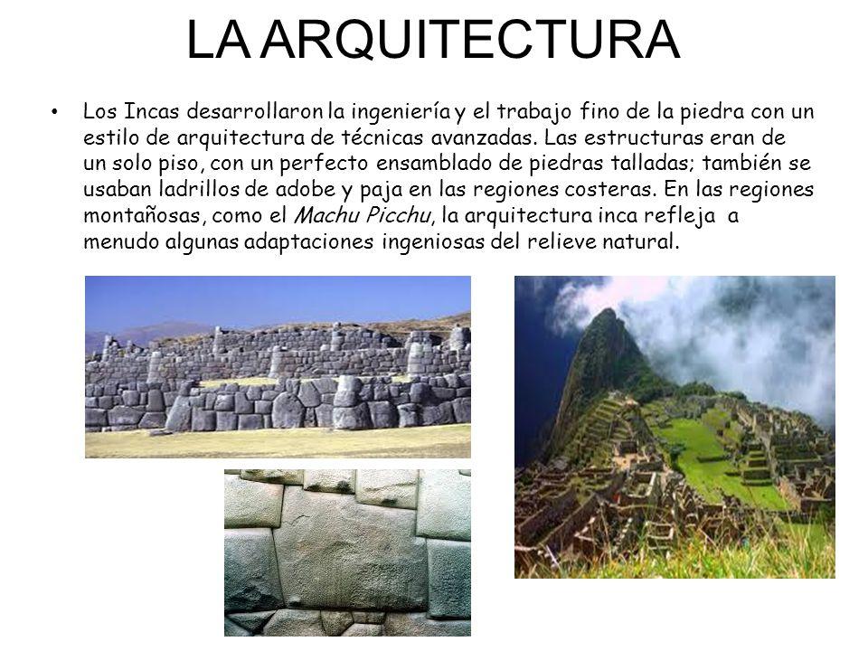 El asombroso mundo de los incas ppt descargar for Arquitectura quechua