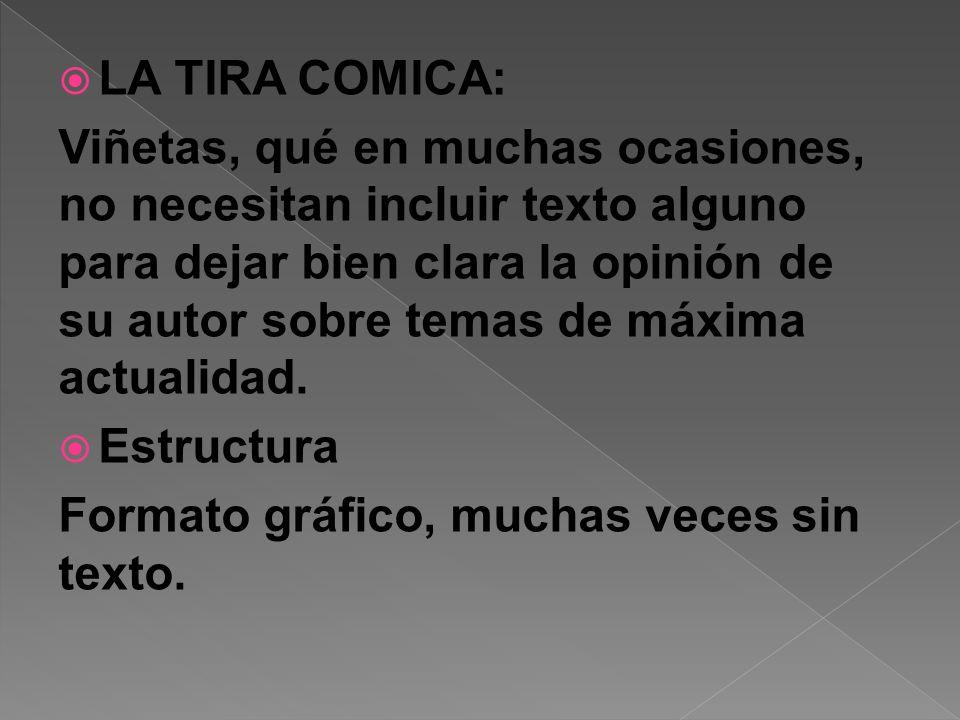 LA TIRA COMICA: