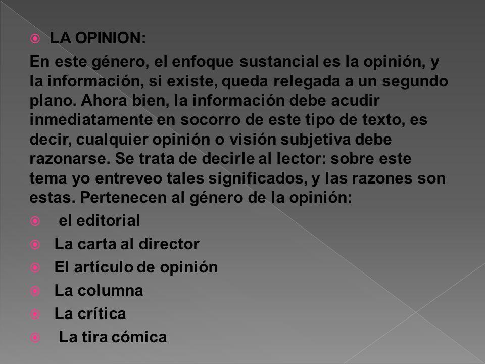 LA OPINION: