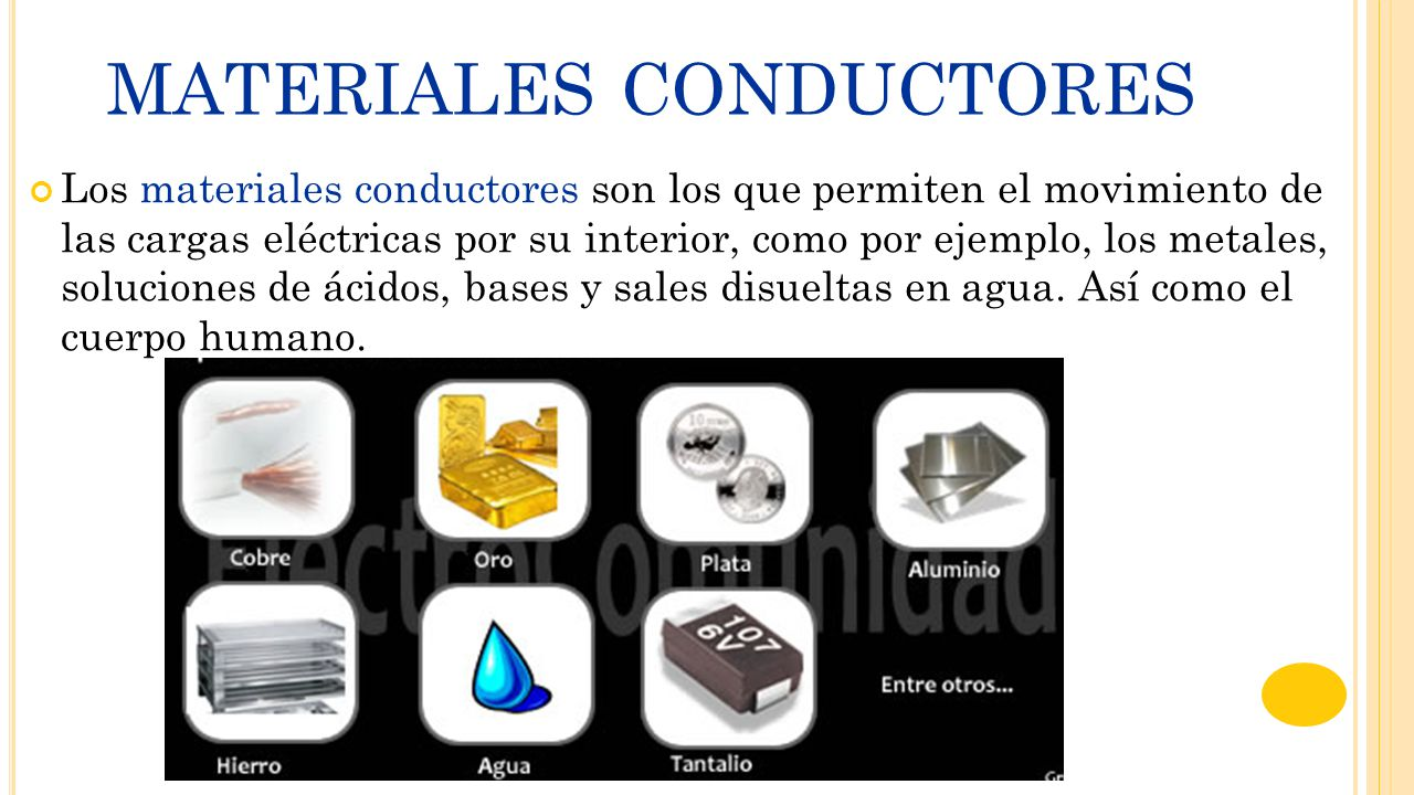 Materiales conductores y aislantes ppt video online - Materiales aislantes del calor ...