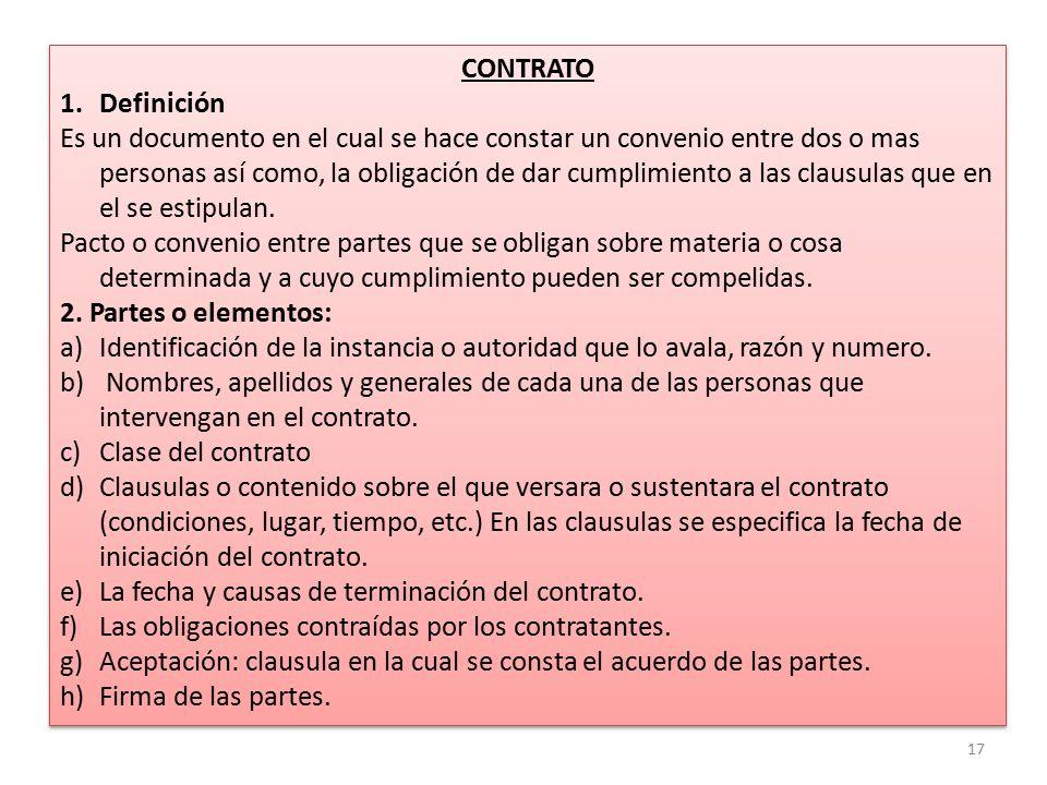 Correspondencia oficial ppt descargar for Clausula suelo firma acuerdo privado