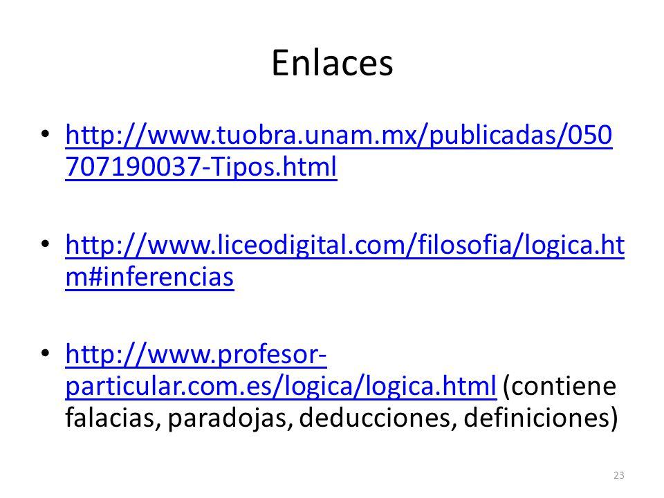 Enlaces http://www.tuobra.unam.mx/publicadas/050707190037-Tipos.html