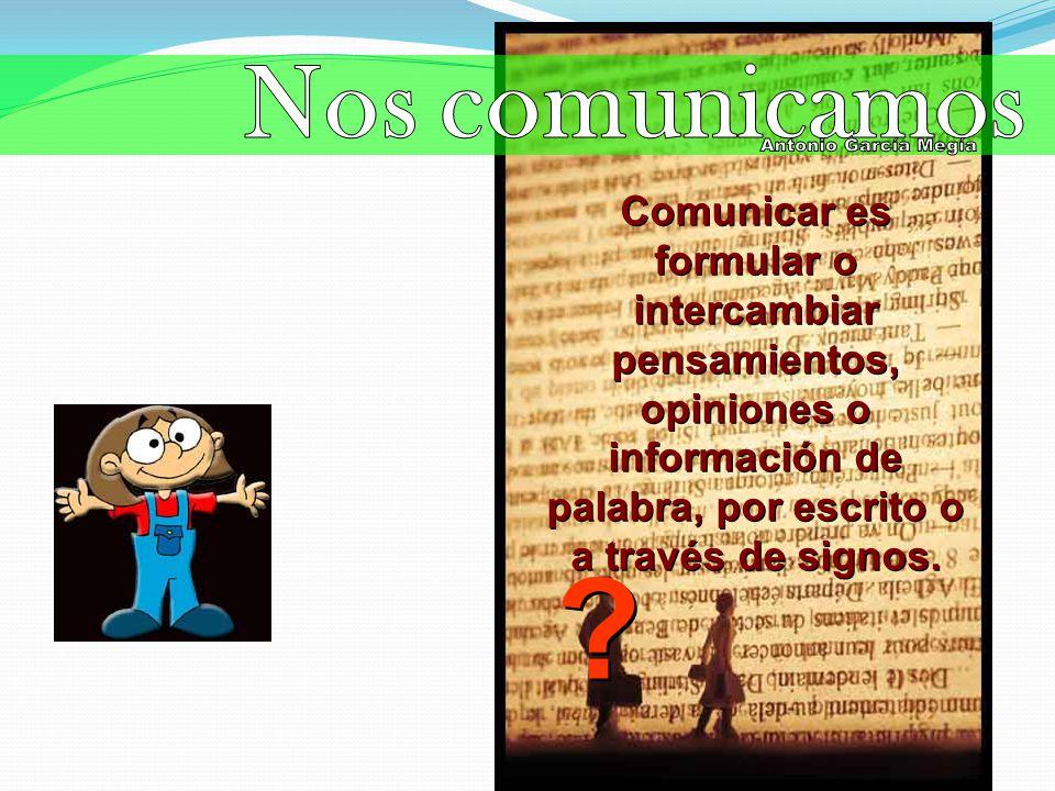 Nos comunicamos Antonio García Megía