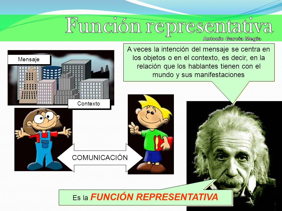 Función representativa