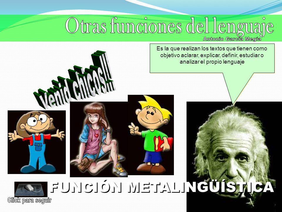 Otras funciones del lenguaje