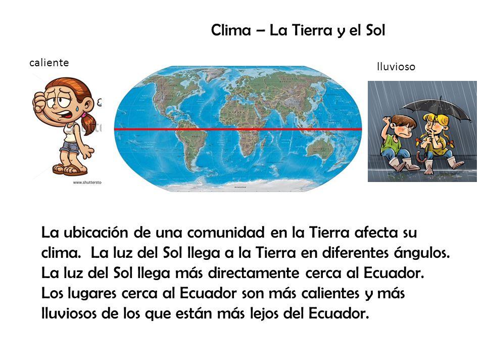 Clima – La Tierra y el Sol