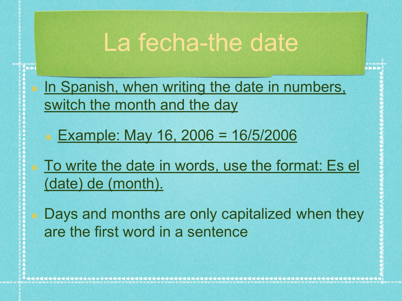 how to write time in spanish All aboard – activity for telling time in spanish – resources for your spanish  classroom  provide students with an answer sheet– so they don't write on your .