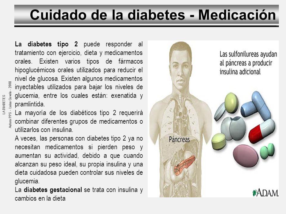 LA DIABETES Fuentes: Medline Plus – Servicio de