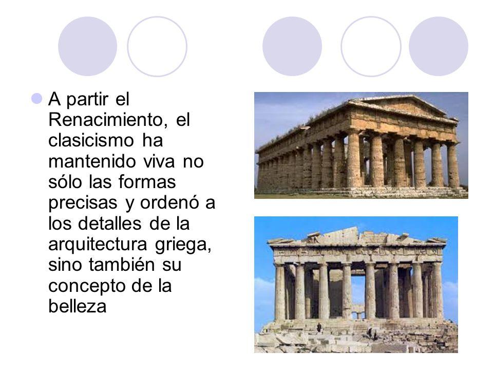 1 escultura griega 2 arquitectura griega ppt video for El concepto de arquitectura