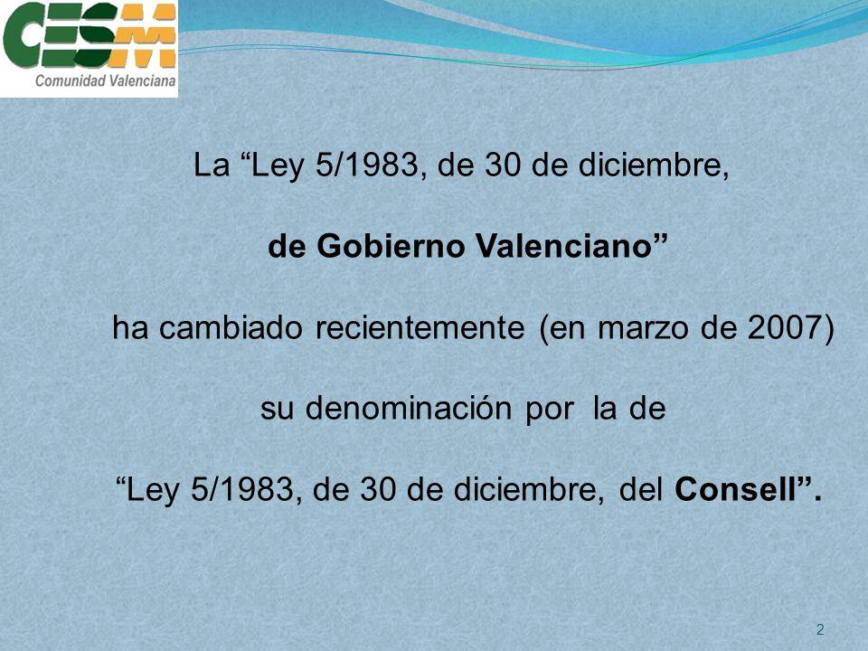 de Gobierno Valenciano