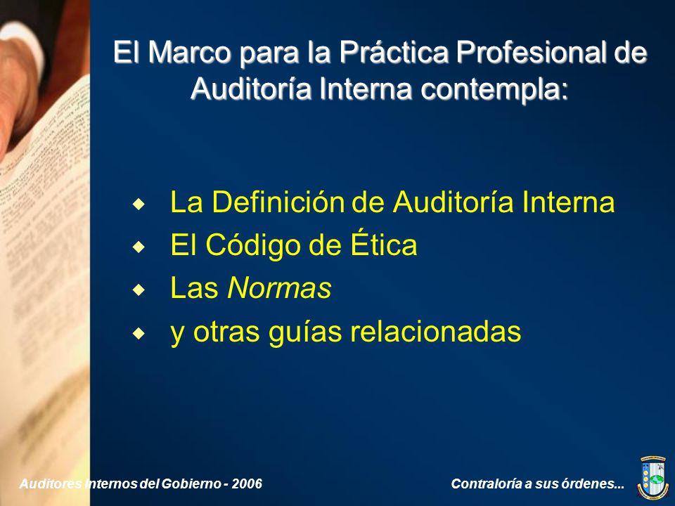 Normas para el ejercicio profesional de la auditor a for Practica de oficina definicion