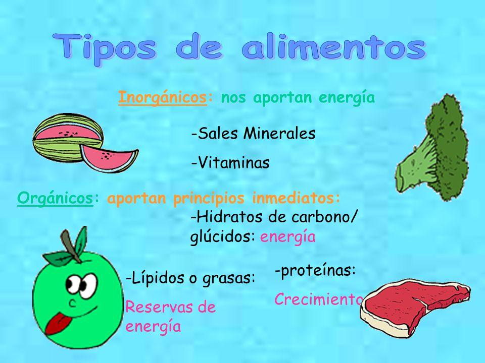 Los alimentos ppt descargar - Alimentos hidratos de carbono ...