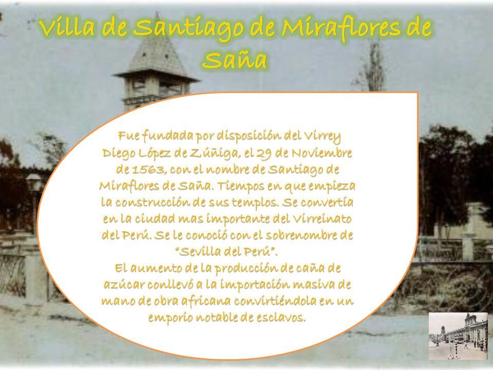 Villa de Santiago de Miraflores de Saña