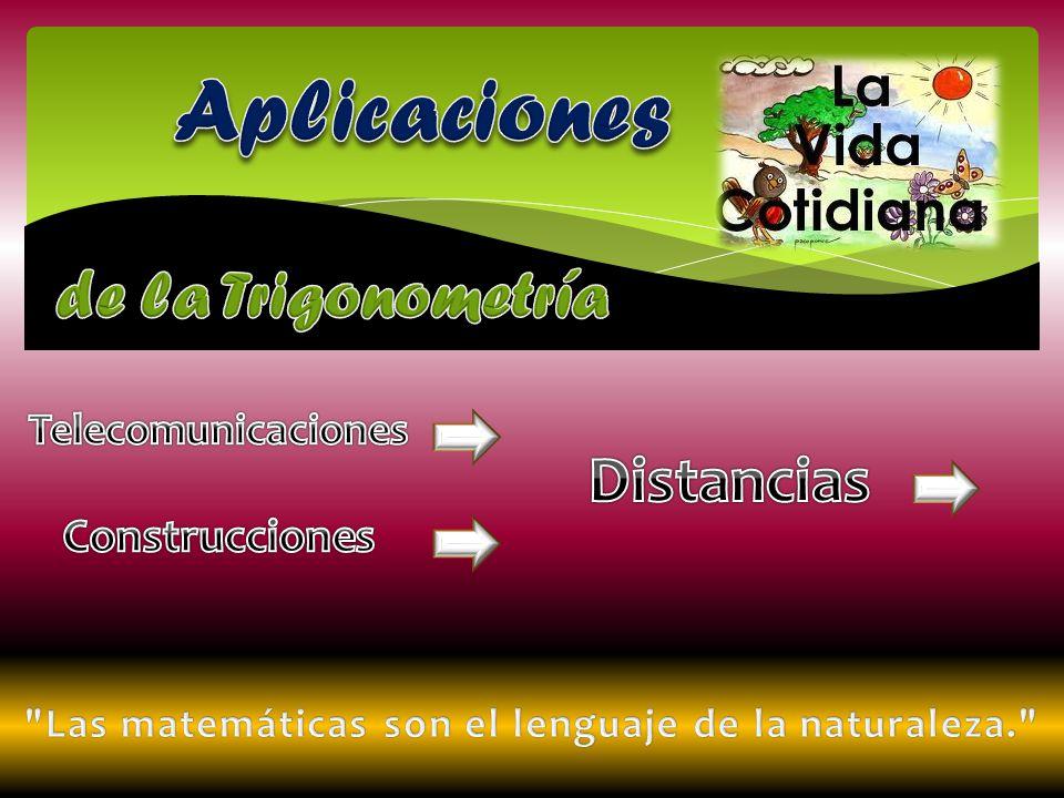 Las matemáticas son el lenguaje de la naturaleza.