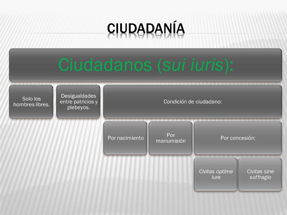 Ciudadanos (sui iuris):