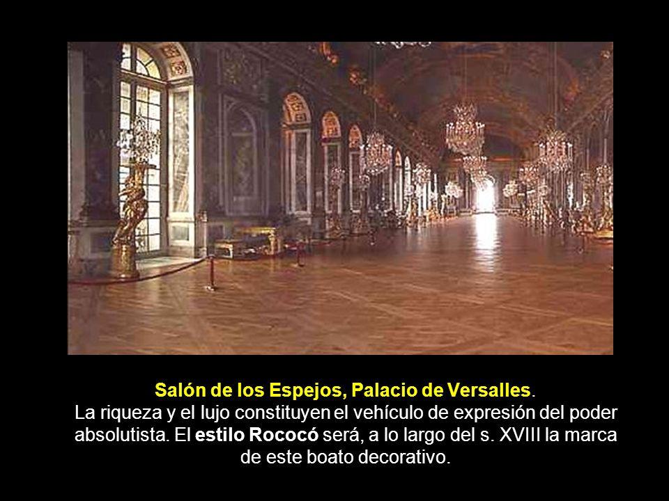 El barroco la arquitectura y el urbanismo ppt descargar for Salon los espejos