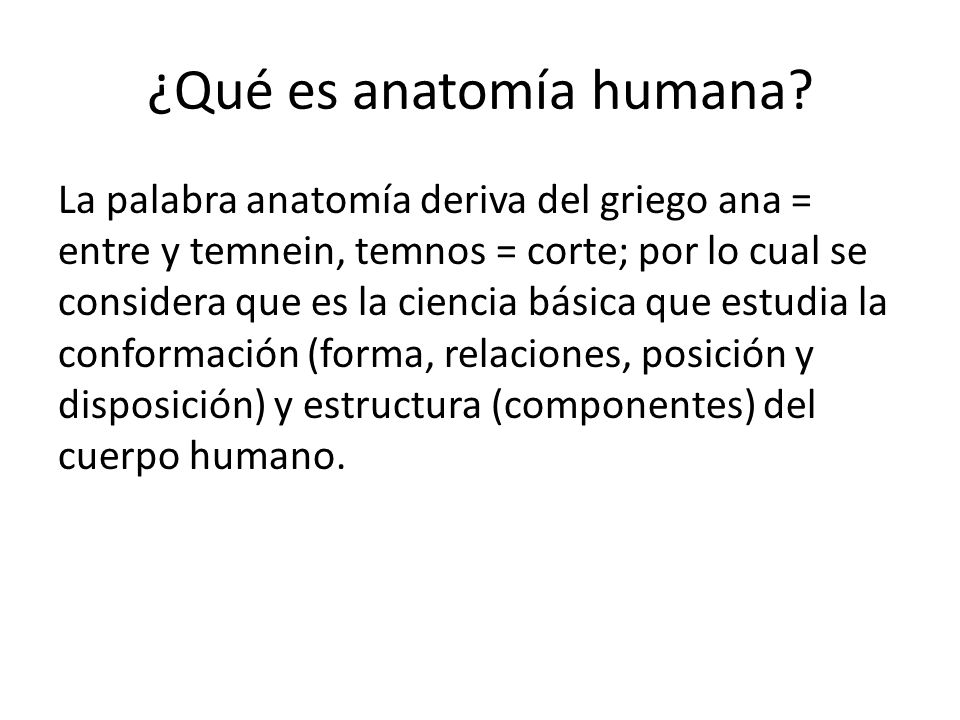 Increíble Anatomía Y Fisiología Introducción En El Cuerpo Humano ...
