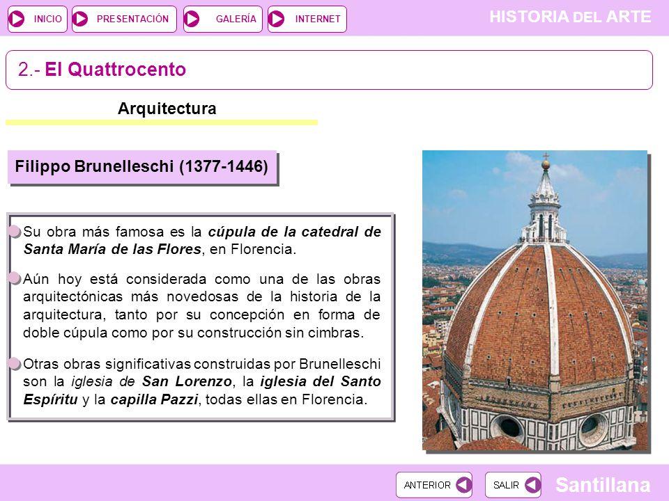 11 el renacimiento italiano el manierismo introducci n Arquitectura quattrocento caracteristicas