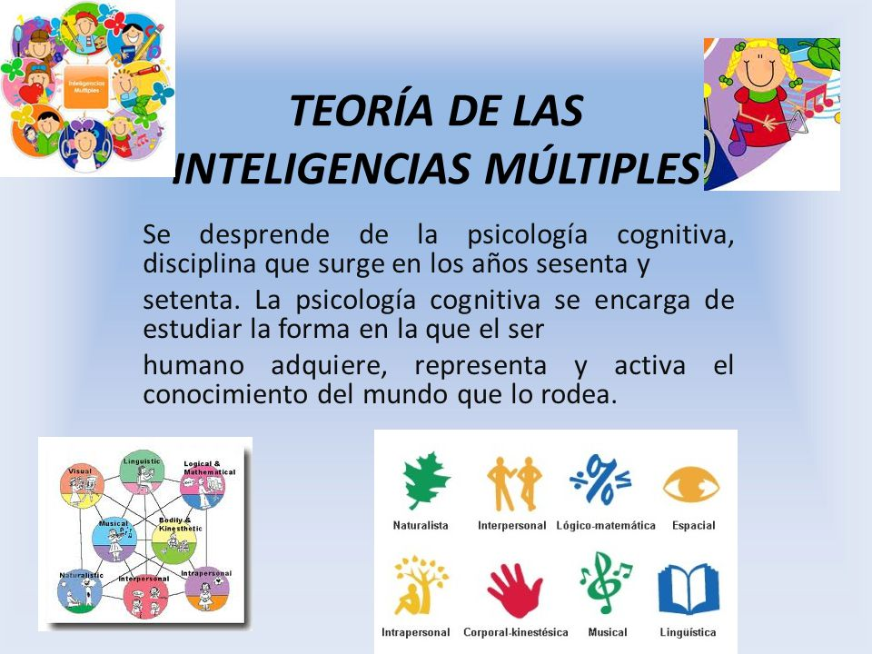 howard gardner teoria inteligencias multiples pdf