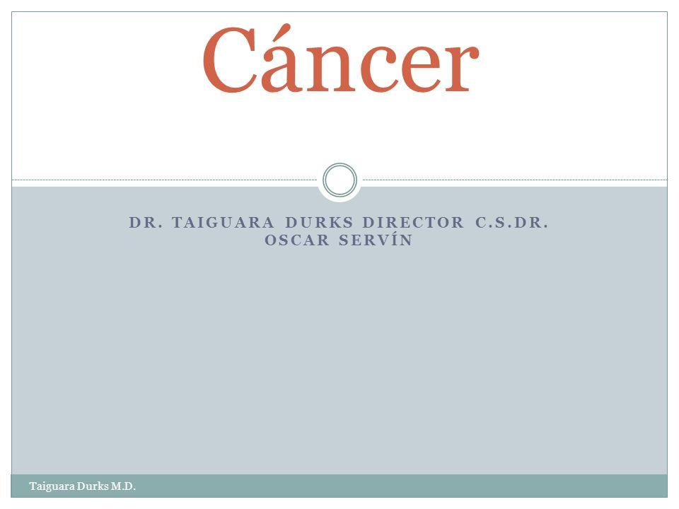 Dr. Taiguara Durks Director C.S.Dr. Oscar Servín