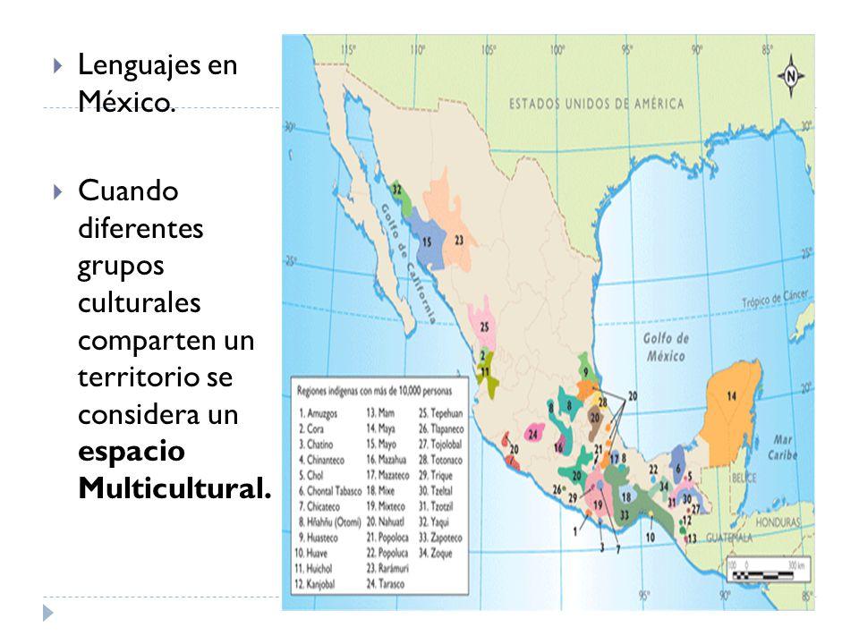 Lenguajes en México.