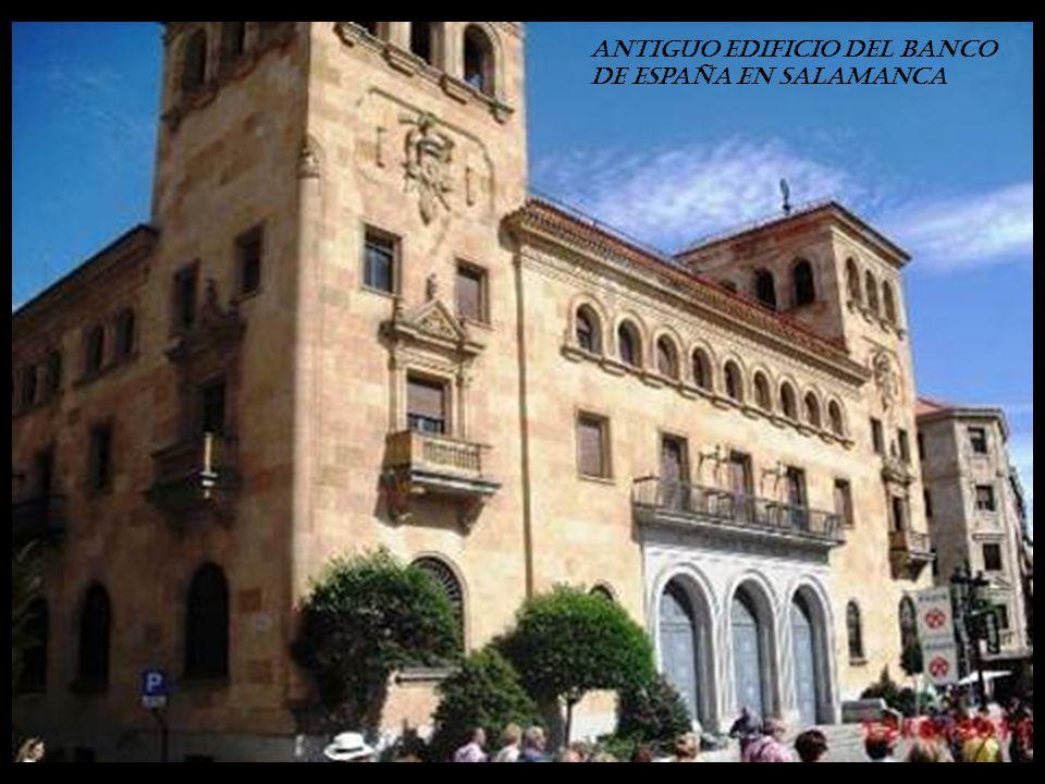 antiguo edificio del Banco de España en Salamanca