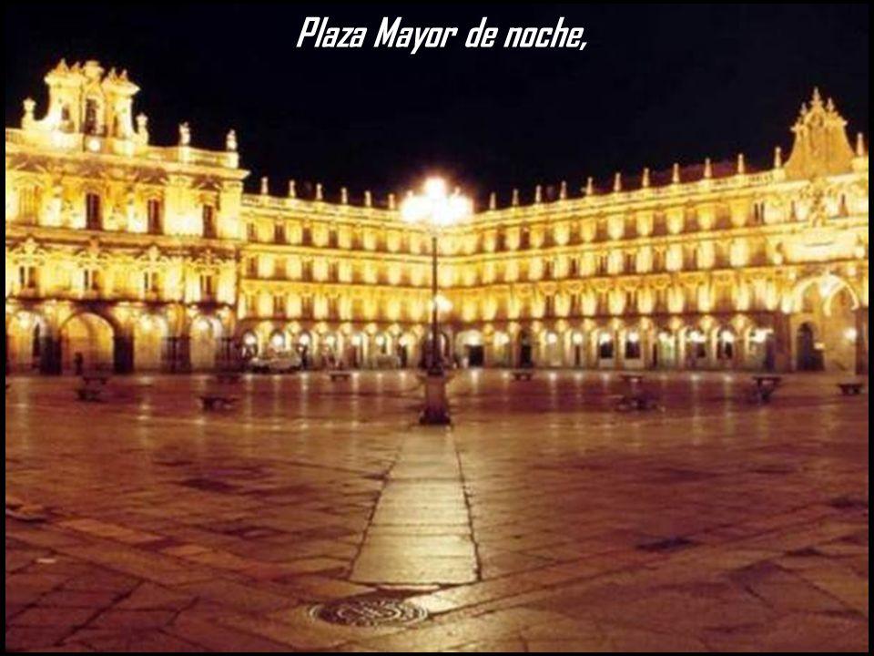 Plaza Mayor de noche,