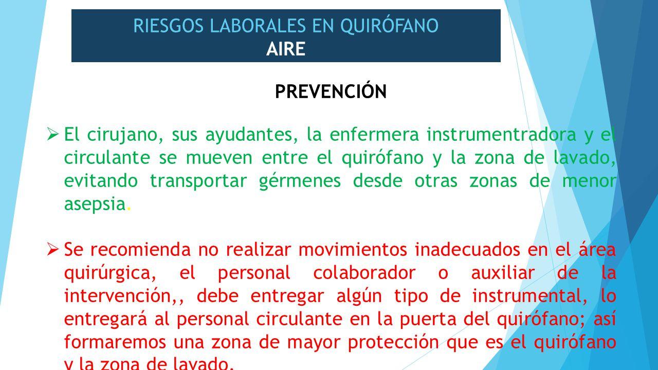 Riesgos laborales en el personal de enfermer a de for Prevencion de riesgos laborales en la oficina